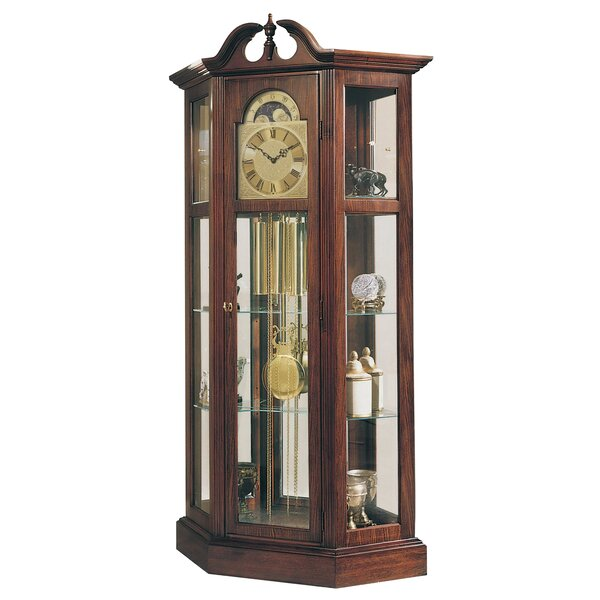 Traditional Richardson I Curio Clock by Ridgeway Clocks