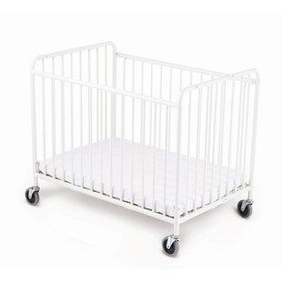 Price comparison Stowaway Folding Compact Crib with Mattress ByFoundations
