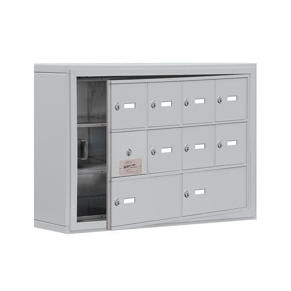 3 Tier 4 Wide EmpLoyee Locker by Salsbury Industries