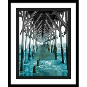 'Teal Docks I' Photographic Print by Star Creations