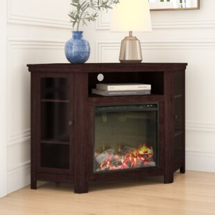 Tieton TV Stand for TVs up to 48 with Fireplace