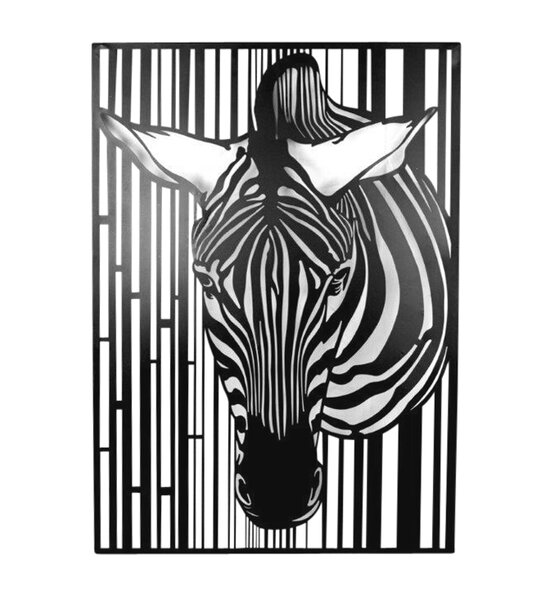 Metal Zebra Wall Décor by World Menagerie