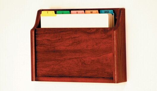 Single Pocket Chart Holder by Wooden Mallet