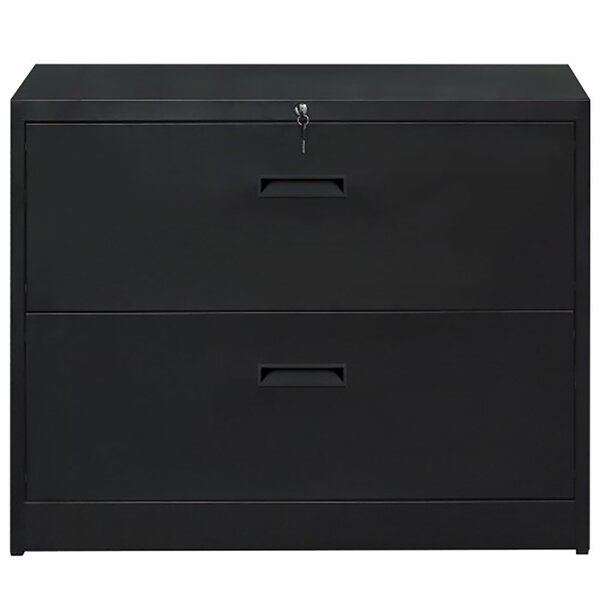 Anti-Tilt 2-Drawer Lateral Filing Cabinet
