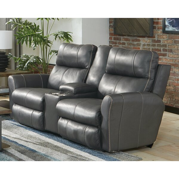 Review Mara Reclining 79'' Flared Arms Loveseat