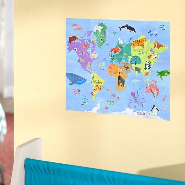 Cortez Animals Around the World Pastel Paper Print by Harriet Bee