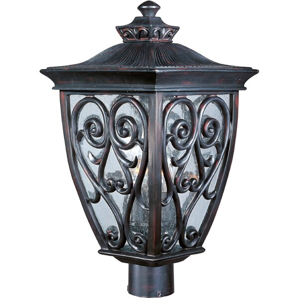 Pequoig Outdoor 3-Light Lantern Head by Astoria Grand