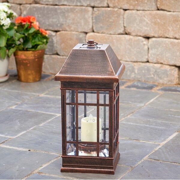 San Rafael II Solar Plastic Lantern by Smart Solar