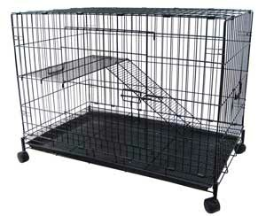 2-Level Small Animal Cage by YML