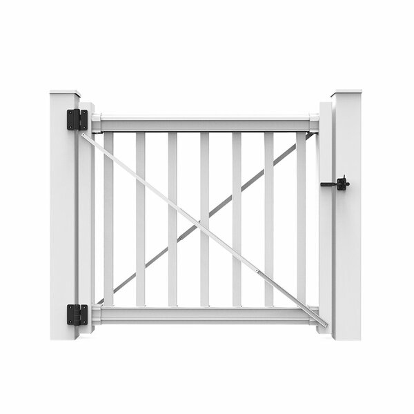 3 ft. H x 4 ft. W Gate by Xpanse Select Vinyl Railing