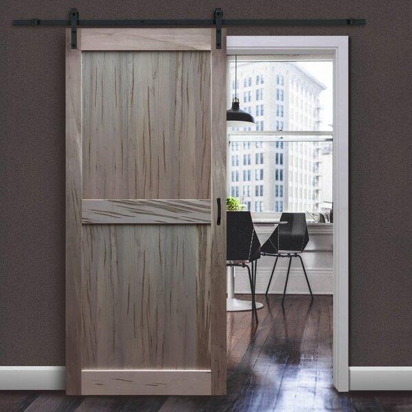 Solid Flush Wood Interior Barn Door by Kimberly Ba