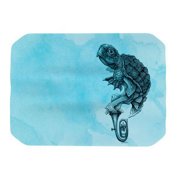 Turtle Tuba III Placemat by KESS InHouse