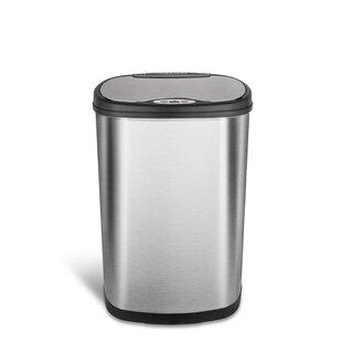 Nine Stars 13 2 Gallon Motion Sensor Trash Can