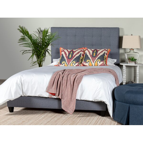 Gretna Square Tufted Upholstered Standard Bed by Alcott Hill