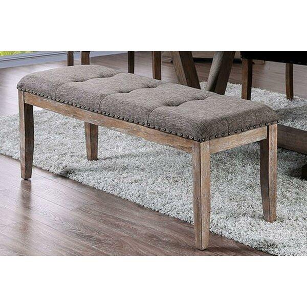 Ybarra Rectangular Wood Bench By One Allium Way