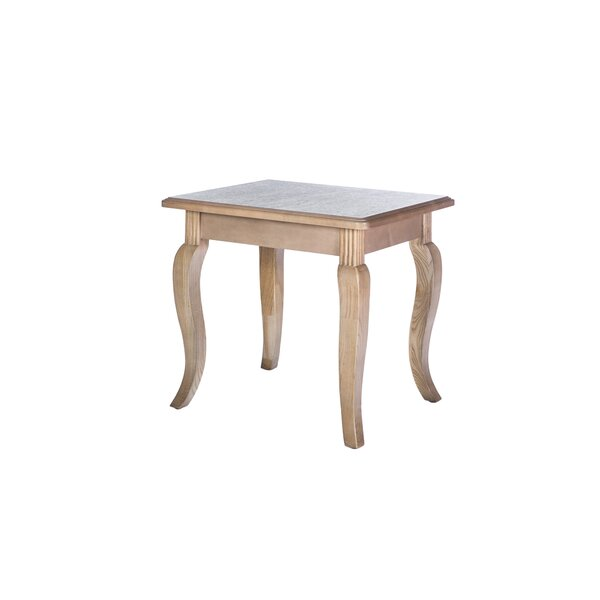 Country French End Table by Akin