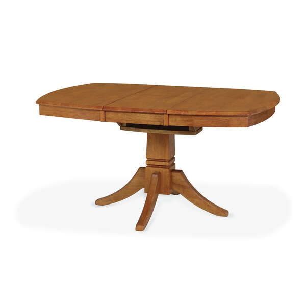 Hillyard Extendable Solid Wood Dining Table by August Grove August Grove