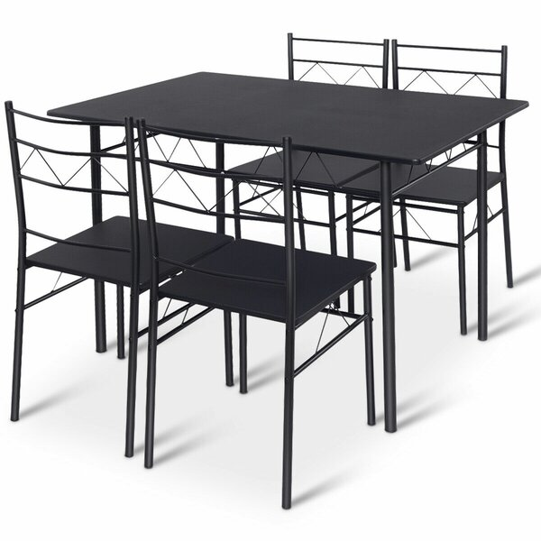 Helfer 5 Piece Breakfast Nook Dining Set by August Grove