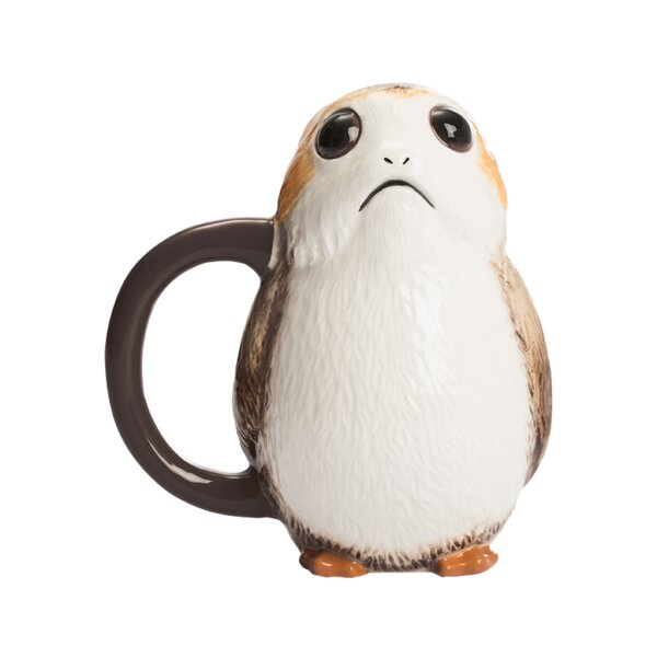 Star Wars the Last Jedi Porg Premium Coffee Mug by Vandor LLC