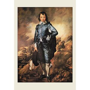 'The Blue Boy' by Sir Thomas Gainsborough Painting Print by Buyenlarge