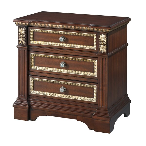 Osterhout 3 Drawer Nightstand by Astoria Grand