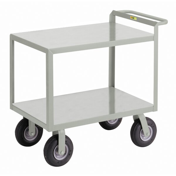 30 x 65.5 Cushion-Load Merchandise Collector Utility Cart by Little Giant USA