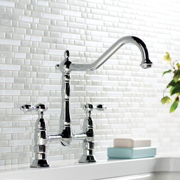 Tudor Bridge Faucet by Kingston Brass