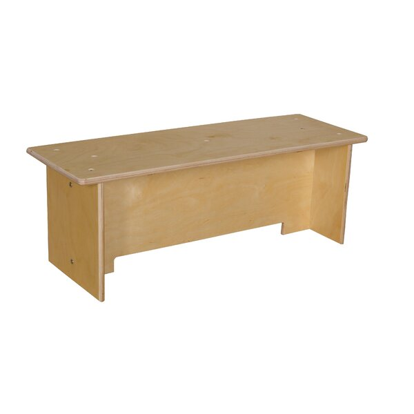 Contender Toddler Wood Bench by Wood Designs