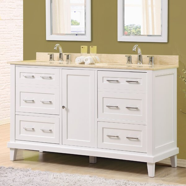 Fairlee 60 Double Bathroom Vanity Set by Latitude Run