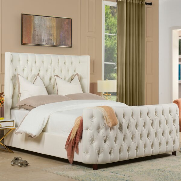 Janiyah Upholstered Standard Bed by Willa Arlo Interiors