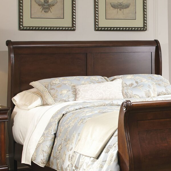 Raina Sleigh Bed by Alcott Hill