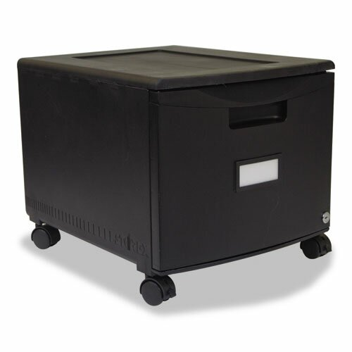 1-Drawer Mobile Lateral filing cabinet by Storex