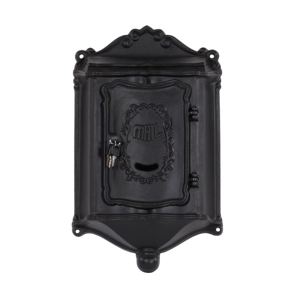 Colonial Locking Wall Mounted Mailbox by Amco Mailboxes