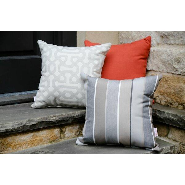 Canyon Creek Indoor/Outdoor Sunbrella Throw Pillow (Set of 2) by Brayden Studio