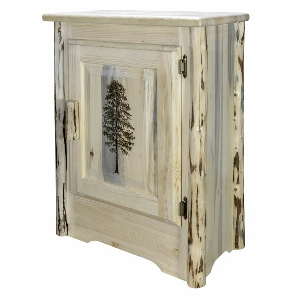Shrum 1 Door Accent Cabinet by Millwood Pines