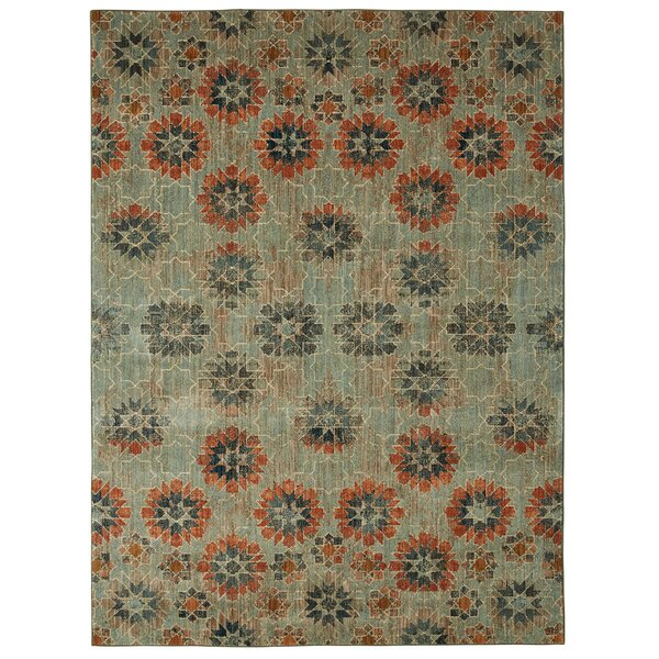 Studio in Bloom Taupe Area Rug by Patina Vie