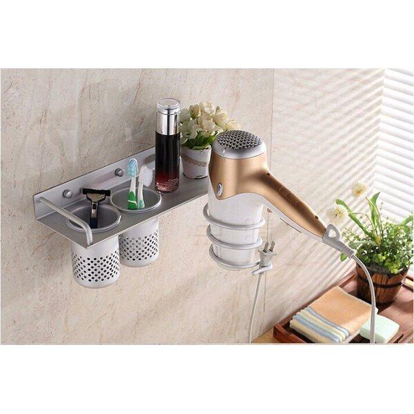 Kairi 5 x 6 x 11 Wall Mounted Bathroom shelves