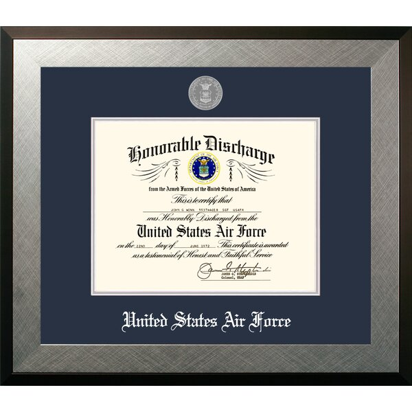 Air Force Discharge Honors Picture Frame by Patriot Frames