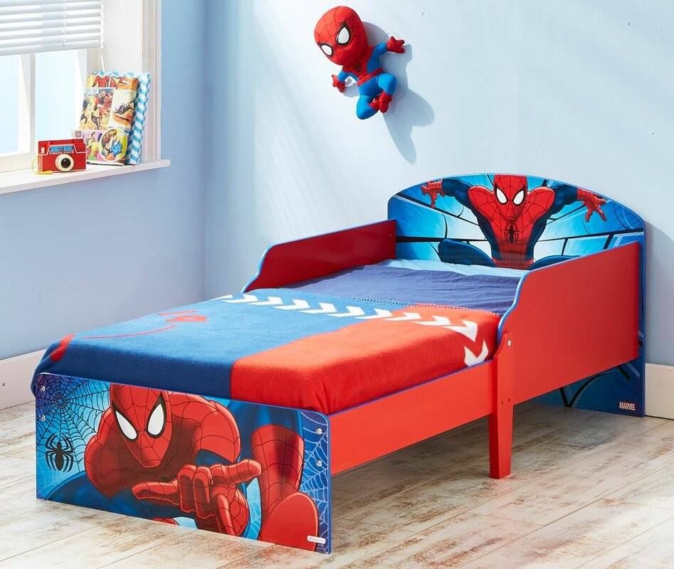 Spiderman Toddler Bed Sheet