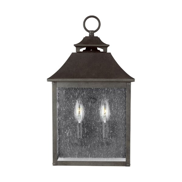 Stults 2-Light Outdoor Wall Lantern by Charlton Home