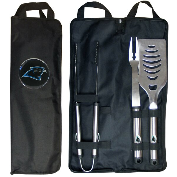NFL 3-Piece BBQ Grilling Tool Set by Siskiyou Products