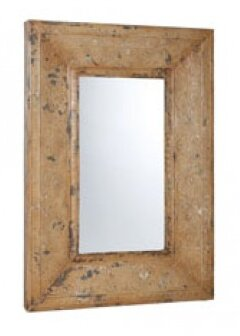 Urbina Stamped Metal Full Length Wall Mirror by August Grove