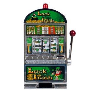 Luck of the Irish Slot Machine Bank by Trademark Games
