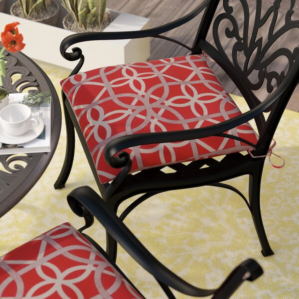 Marissa Indoor/Outdoor Dining Chair Cushion (Set of 2) by Andover Mills