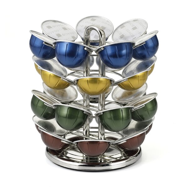 28 Pod Nespresso Vertuoline Capsule Carousel by Nifty Home Products