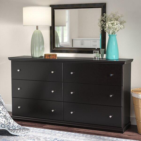 Beaumont 6 Drawer Dresser by Three Posts