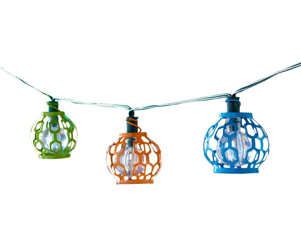 Solar 20-Light 5.5 ft. Globe String Lights by Smart Solar