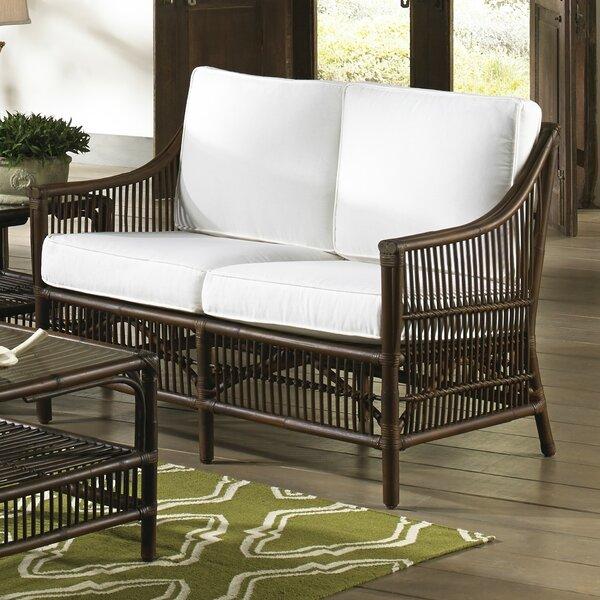 Beautiful Modern Bora Bora Loveseat by Panama Jack Sunroom by Panama Jack Sunroom