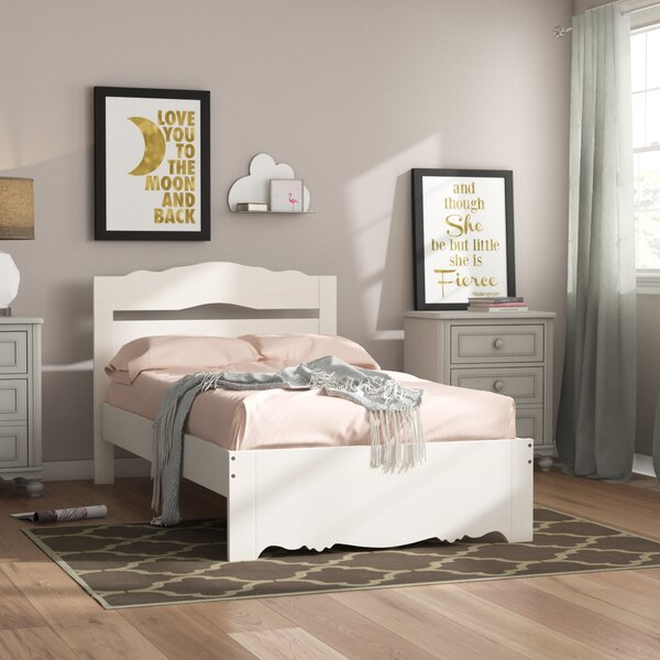 Waleska Twin Platform Bed By Harriet Bee by Harriet Bee Discount