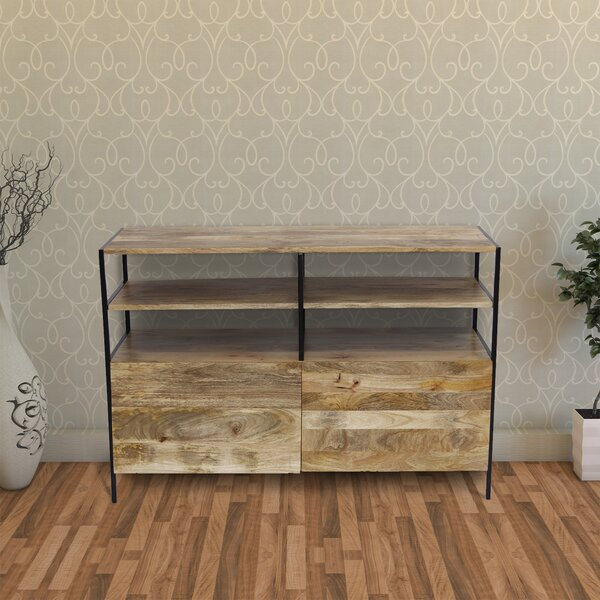 Tarawa Solid Wood TV Stand For TVs Up To 55